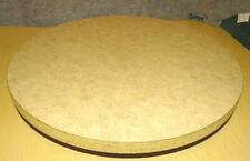 Cake Decorating Wood Rotating Lazy Susan Turntable Serving Board Heavy Duty
