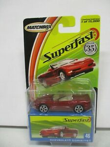 Matchbox Superfast Chevrolet Corvette (1)