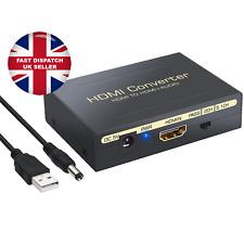 1080P Audio Extractor Converter HDMI To HDMI & Optical SPDIF + RCA L/R HD DAC UK
