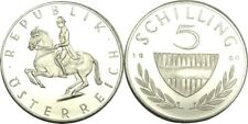New listing elf Austria 5 Schilling 1960 Proof Silver Lippizaner Horse only 1,000 minted
