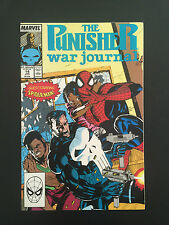Box 35a, Comic Marvel, The Punisher War Journal, # 14 Jan, Starring Spider-man