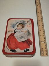 """Tin Box ~ Keller-Charles Love's Message ''A Hat Box Full of Love"""" collectable"""