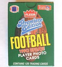 1990 Fleer Update EMPTY Box FOOTBALL