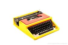 OLIVETTI DORA aka Lettera 31- yellow&red portable typewriter - rare typewriter