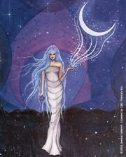 Jessica Galbreth Drawing Down the Moon Fairy Faery Witch Spell Sticker Decal New