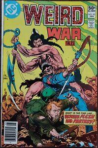 Weird War Tales #95 VF 8.0 (DC 1981)