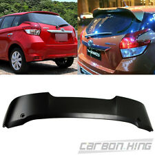 Unpaint For TOYOTA YARIS 3rd Hatchback T Look Roof Spoiler ABS 2016 LE