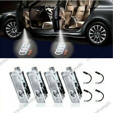 4X Led Logo Door Courtesy Light Shadow Laser Projector for Audi A8-A6 A4 Q7 Sq5