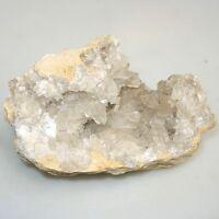 Große Quarz Druse ca.2,5 Kg 18 x 12 x 10 cm Kristall Bergkristall Rosenquarz