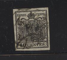 Austria -Lombardy 3 used catalog $200.00 Kl0911