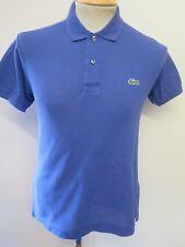"Genuine Vintage Lacoste men's Blue Polo Shirt Size XS 32-34"" Euro 42-44"