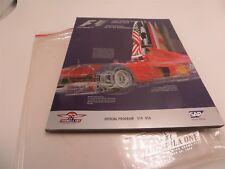 Formula 1 F1 SAP United States Grand Prix Official Program for 2000