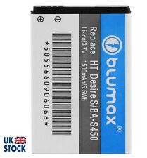 Blumax Li-ion Battery 3.7V 1500mAh for HTC Desire S Z 7 Mozart EVO Shift BA-S450