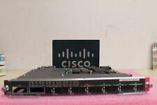 Cisco WS-X6708-10G-3CXL WS-X6708-10GE-3CXL 8-Port Gig Ether Mod WS-F6700-DFC3CXL