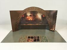 custom vintage star wars rotj jabba the hutt throne room diorama medium backdrop