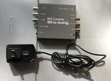 Blackmagic Design SDI to Analog Mini Converter with Power Supply