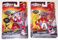 Power Rangers Megaforce Metallic Red Ranger Mighty Morphin Bandai Figure New Lot