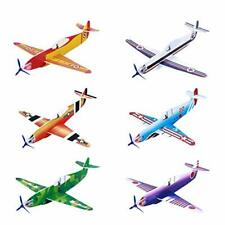 Toyvian Flying Airplane Gliders Toys,Foam Plane Models,36 Pack 8 Inch Party