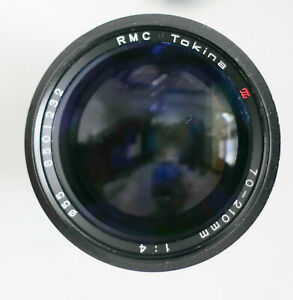 Nikon AI-S mount RMC Tokina 70-210mm F4 Macro Zoom w/pouch case Excellent cond.