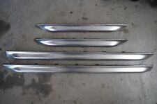 Audi C5 allroad Oem Lower Door Blades Molding Set Chrome (Fits: Audi)
