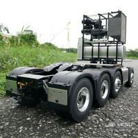 LESU 1/14 RC 8*8 Tractor Truck Benz 3363 Metal Chassis TAMIYA 56352 Servo Motor