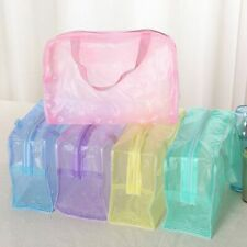 Pvc Waterproof Travel Transparent Cases Clothes Toiletries Storage Bag Luggage