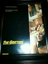 The Grifters Rare Original Academy Awards Consideration Promo Poster Ad Framed!
