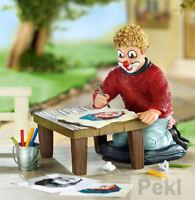 Gilde Clowns - Clown Der Zeichenkünstler - Limitierte Sondereditionsfirgur 10214