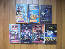 Doctor Who New Adventures Lot of 7 Pbs Also People, Set Piece ++