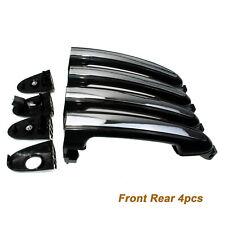 4PCS Outside Door Handles Chrome & Black for Hyundai Santa Fe 07-12 82651-2B000