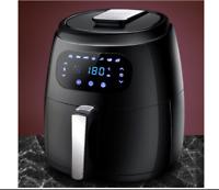 Devanti Air Fryer 8.5L LCD Digital Oil Free Deep Frying Cooker Accessories Rack