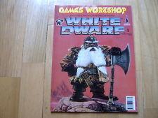Revista WHITE DWARF Número 1 Ed. española - Games Workshop Spanish Edition Nº 1