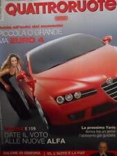 Quattroruote 593 2005 Alfa Brera  Alfa 159 Date il voto alle nuove ALFA    [Q44]