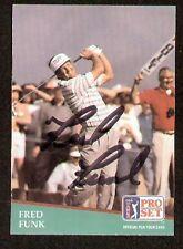 Fred Funk signed autograph 1991 Pro Set Golf No. 54