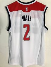 Adidas NBA Jersey Washington Wizards John Wall White sz S