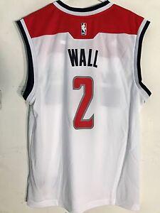 Adidas NBA Jersey Washington Wizards John Wall White sz S