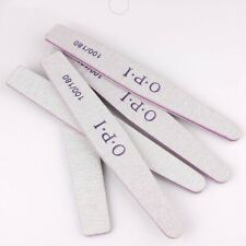 2x OPI Nail File Double Sided 100/180 Grit Manicure Salon Quality Acrylics Files