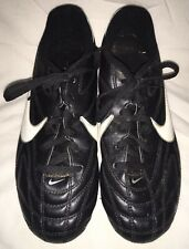 Nike Premier Youth Black And White Football Boots Moulded Studs Size Uk3