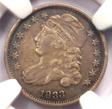 1833 Capped Bust Dime 10C - NGC XF Detail (EF) - Rare Early Certified Coin!