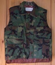 Insulated Camo Vest, Commando Casuals Made in USA, Men's M