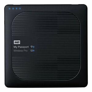 """WD My Passport Wireless Pro 1TB externe Festplatte 2,5"""" USB 3.0 Kartenleser,Wifi"""