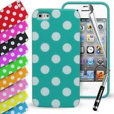 Fundas y carcasas lisos Para iPhone 5s en color principal negro para teléfonos móviles y PDAs
