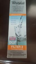 Genuine Whirlpool Refrigerator Ice & Water Filter Pur Filter2 W10413645A