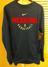Men's Nike Philadelphia 76ers Therma Sweater size large/tall