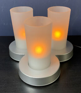 Philips Imageo candlelight 3 rechargeable electric candle lights with charger