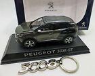 Peugeot 3008 GT 2016 grau-Met. 1:43, mit Schlüsselanhänger