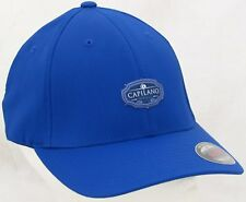 Capilano Golf Country Club Hat Fitted Performance Cap Flex-Fit Blue Size S/M New