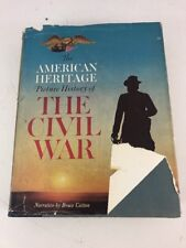 American Heritage Picture History Of The Civil War - Bruce Catton (1960, HC, DJ)