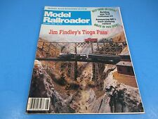 The Model Railroader Magazine August 1982, Jim Findley's Tioga Pass