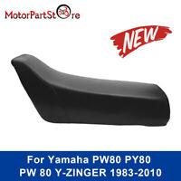 BLACK PW80 PY80 PEEWEE PW PY 80 SEAT CUSHION FOR YAMAHA DIRT/PIT/TRAIL BIKE